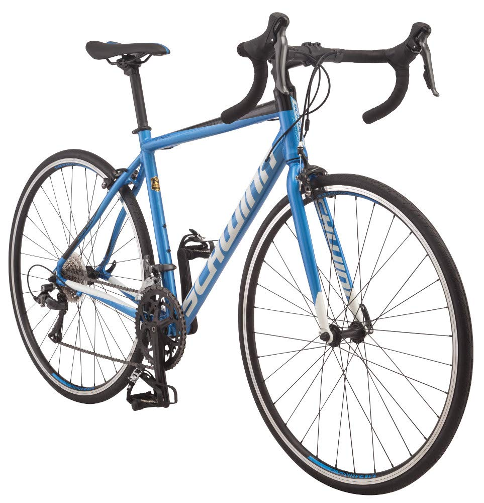 Schwinn Fastback AL Claris Adult Performance Road Bike, Beginner to Intermediate Bicycle Riders, 700c Wheels, 16-Speed Drivetrain, Extra Large Aluminum Frame, Blue
