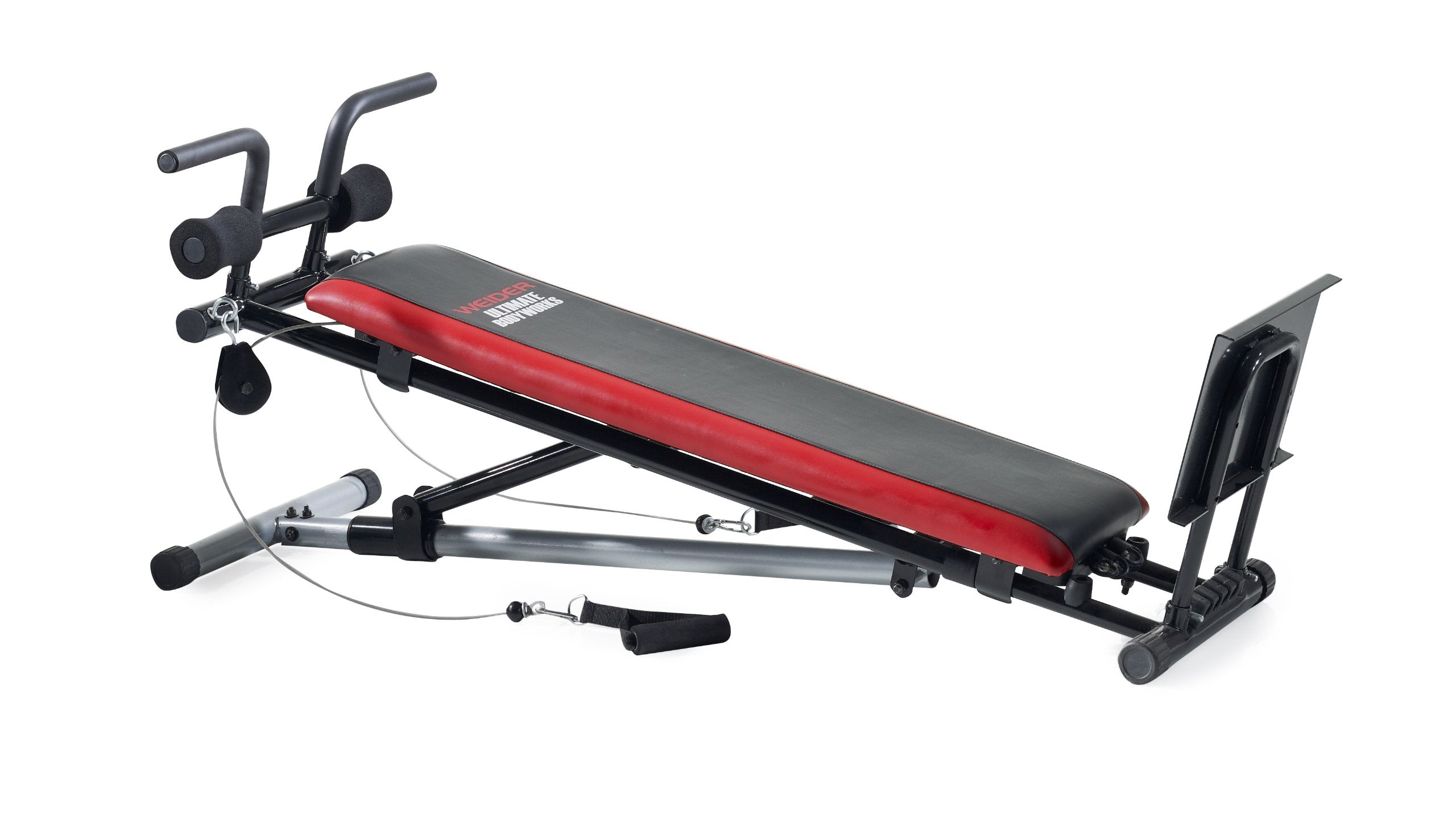 Weider Ultimate Body Works Black/Red, Standard