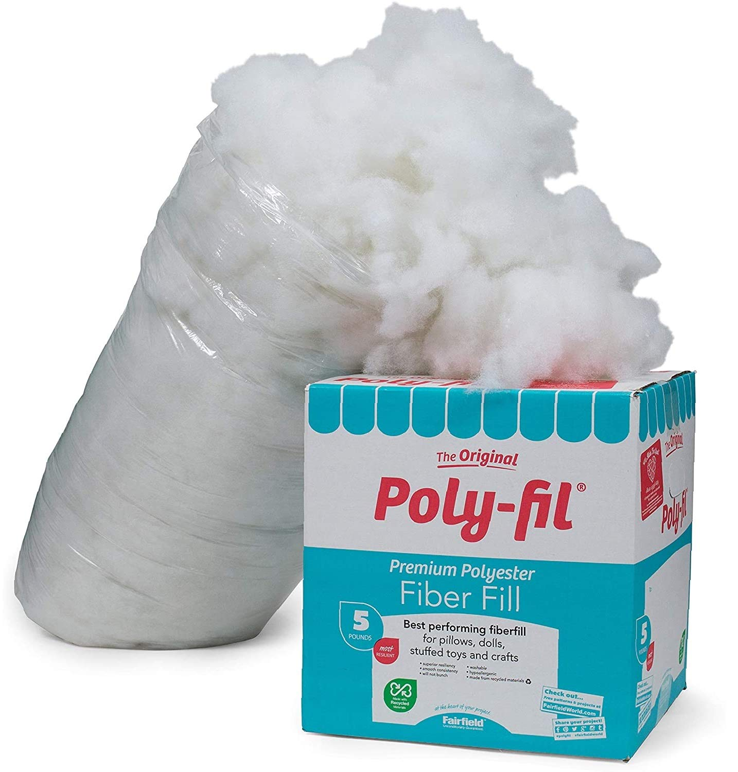 Fairfield PF-5 Poly-Fil Premium Fiber - 1 Pack
