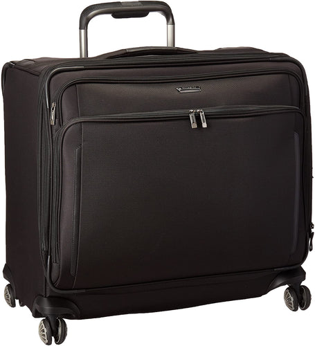 Samsonite Silhouette XV Softside Luggage with Spinner Wheels, Black, Large Glider Case