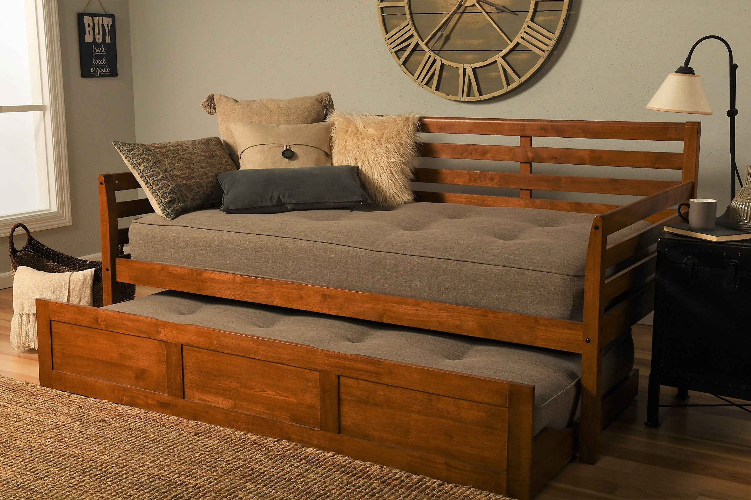 Kodiak Furniture Daybed with Trundle, Twin, Barbados