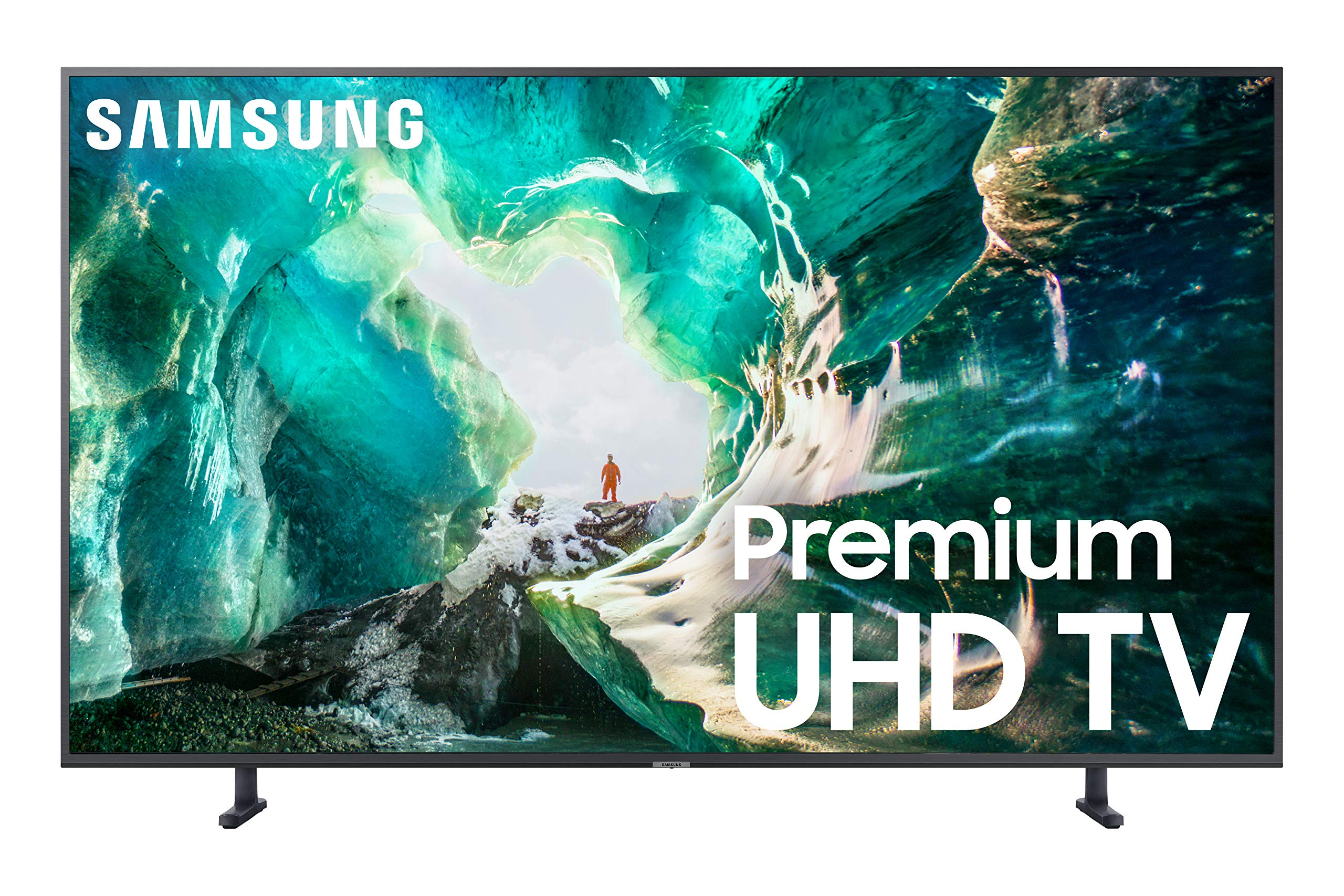 Samsung Flat 55-Inch 4K 8 Series UHD Smart TV with HDR and Alexa Compatibility - 2019 Model