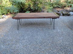 5 ft Outdoor Patio Bench from salvaged barnwood