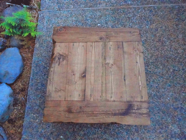 "Old Growth Coffee Table - 4 inch thick top 30"" x 30"""
