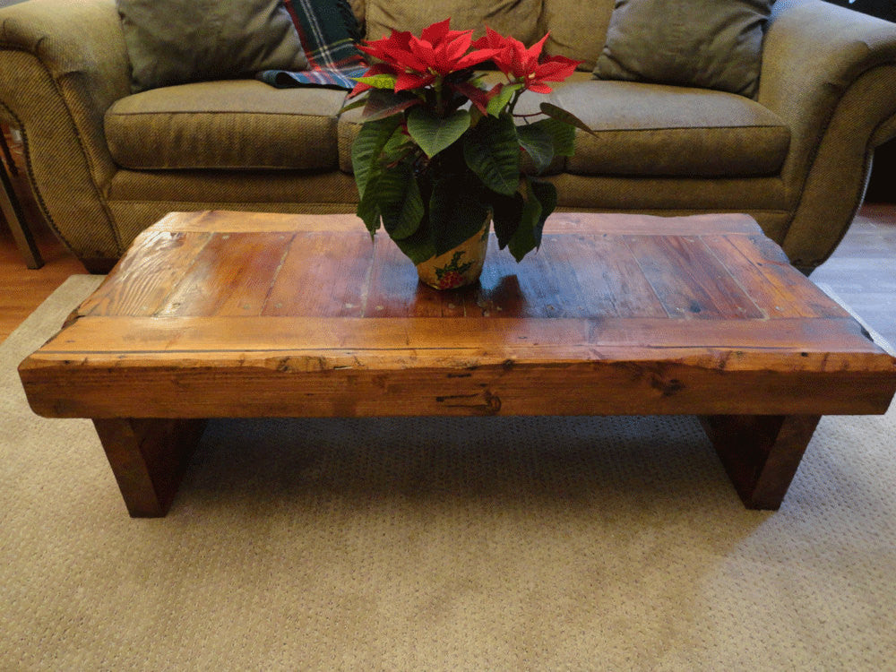 48 X 48 Coffee Table.Old Growth Coffee Table 4 Inch Thick Top 30 X 48 Mt Hood Wood