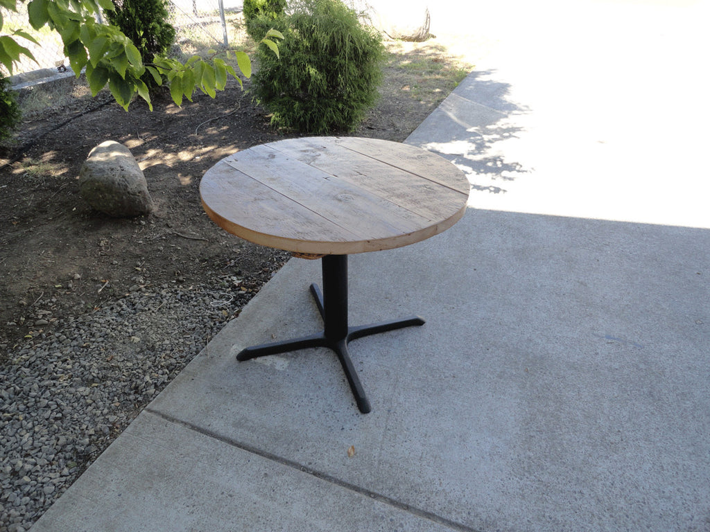 ... 32 Inch Round Restaurant Pedestal Dining Table, 2 4 Person ...