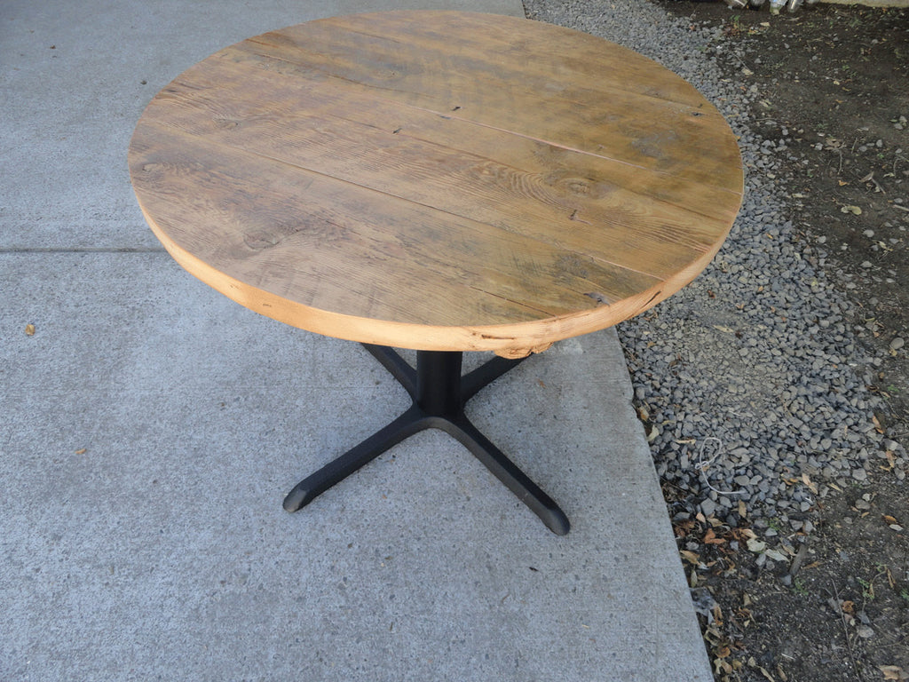 ... 32 Inch Round Restaurant Pedestal Dining Table, 2 4 Person