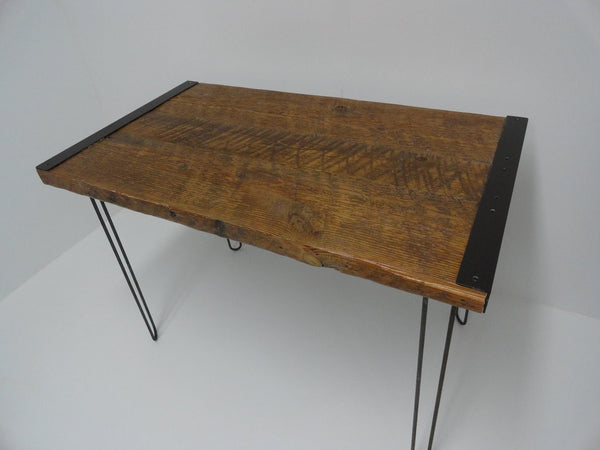 30x42 Industrial Dining Table with Hairpin Legs