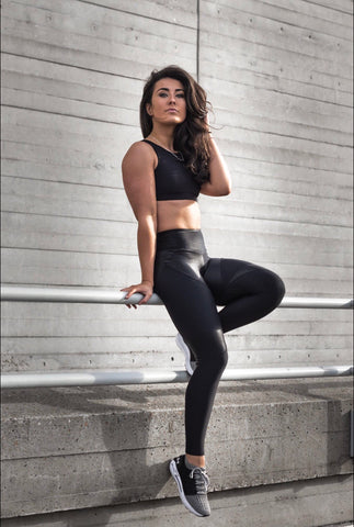 WARRIOR LEGGINGS BLACK