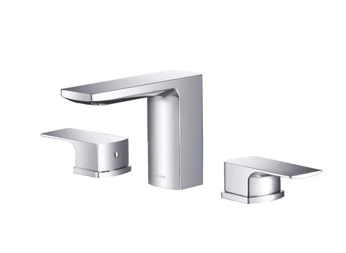 Bathroom Faucet - Stufurhome Barret Bathroom Faucet Set In Chrome