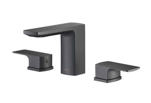Bathroom Faucet - Stufurhome Barret Bathroom Faucet Set In Matte Black