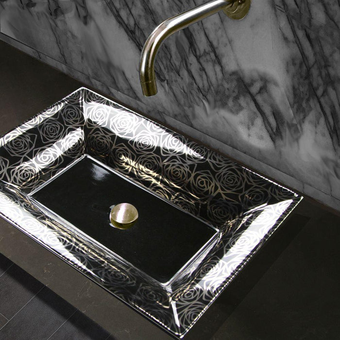 Bathroom Sink - Nantucket Sinks Porto Cervo Italian Fireclay Vanity Sink