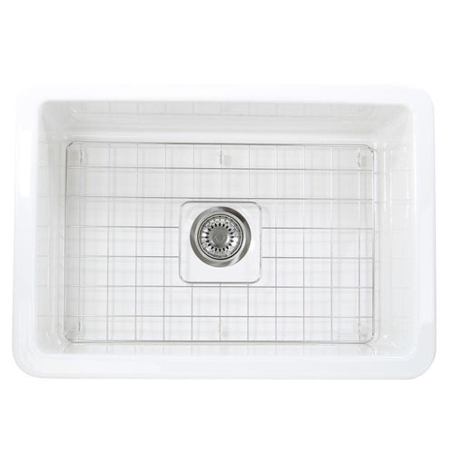 Kitchen Sink - Nantucket Sinks 27-Inch Undermount Fireclay Kitchen Sink