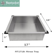 Load image into Gallery viewer, Kitchen Sink - Nantucket Sinks Deluxe Rinse Tray RT1718