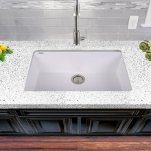 Load image into Gallery viewer, Kitchen Sink - Nantucket Sinks Large Single Bowl Undermount Granite Composite White