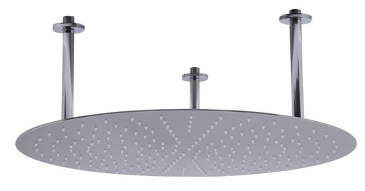"Shower Head - 24"" Round Solid Stainless Steel Ultra Thin Rain Shower Head"