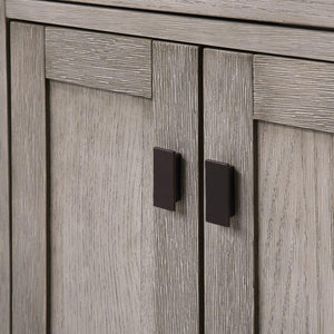 "Vanity - Chestnut 24"" Single Bathroom Vanity In Grey Oak"