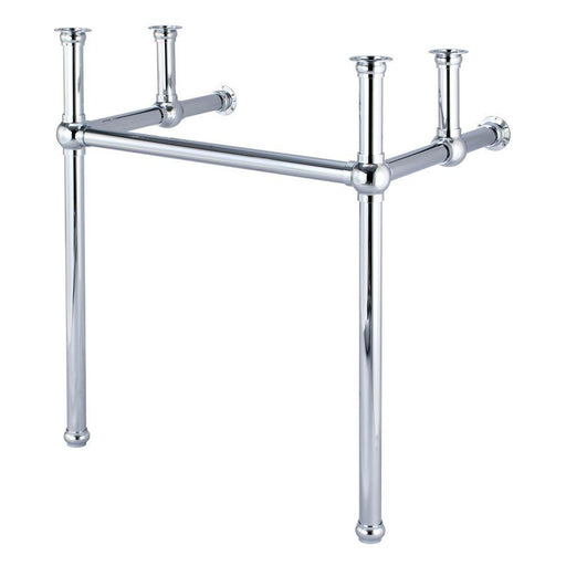 "Vanity - Embassy 30"" Wide Single Wash Stand Only In Chrome Finish"