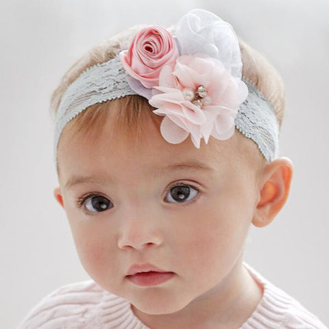 Girl's Soft Pastel Comfy Headband Hair Accessory