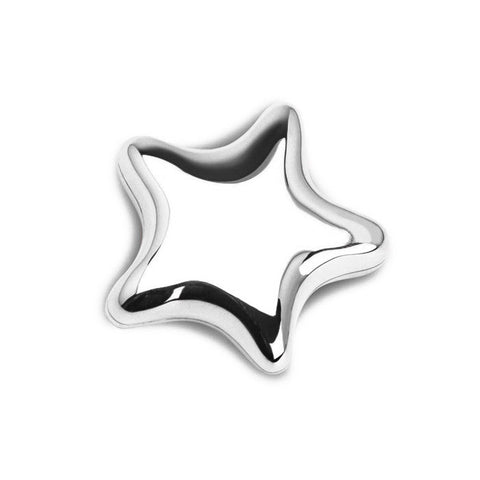 Sterling Silver First Star Heirloom Tooth / Curl Box