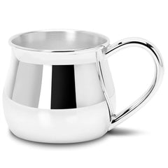 English Heritage Style Silver Plated Nursery Cup
