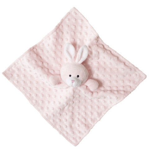 Ultra Plush Bunny Security Blanket, Soft Pink (OS)