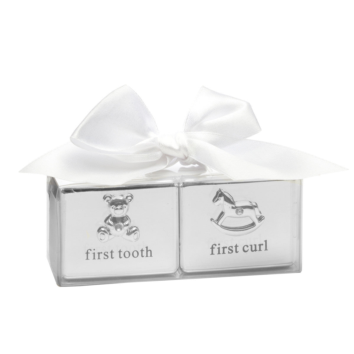 Baby S Matching First Curl Amp First Tooth Box Gift Set