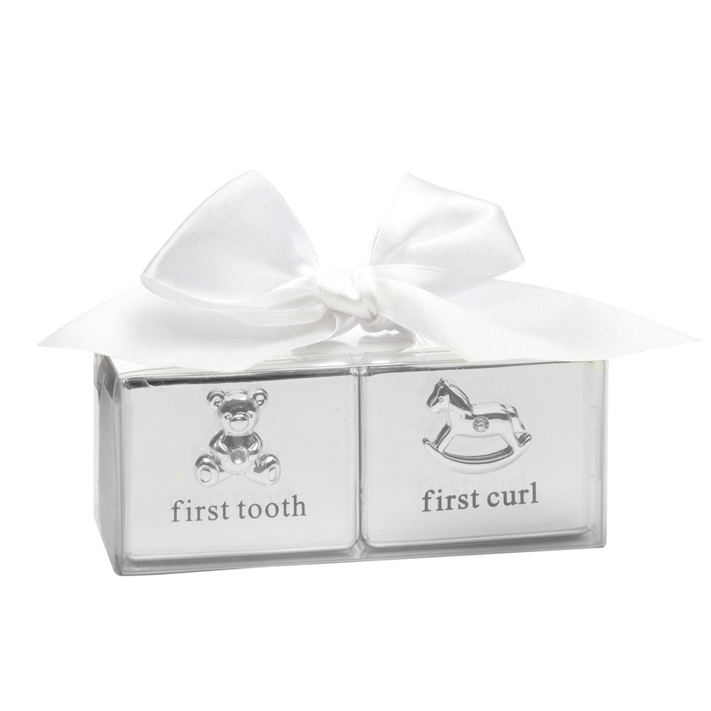 Baby's Matching First Curl & First Tooth Box Gift Set