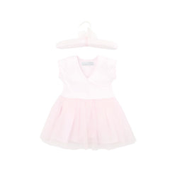 Baby Girl's Soft Ballet Dress Outfit in Ballerina Blush Pink