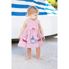Elegant Baby Girl's Nautical Whale Springtime Sundress