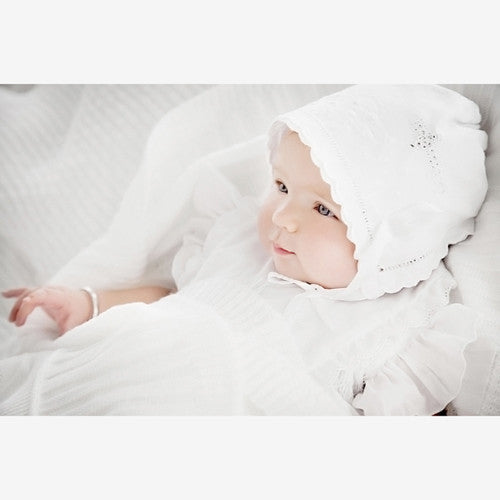 Heirloom Bridal 'Something Old' Christening Bonnet