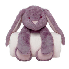 Plush Bedtime Cuddle Bunny with Matching Blanket