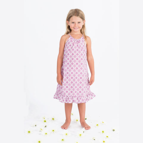 Go Gently Girl's Organic Lil Bohemian Hippie Dress