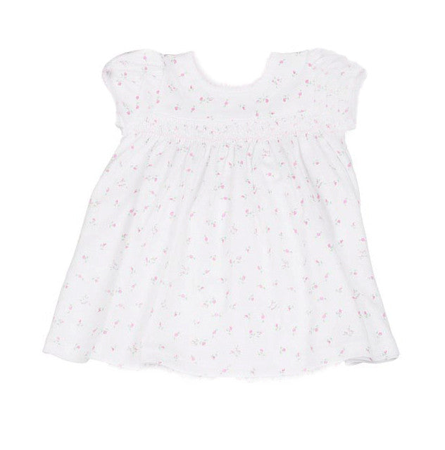 Kissy Kissy Soft Pima Garden Roses Print Dress