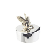 Pewter Winged Fairy Keepsake & Tooth Fairy Box