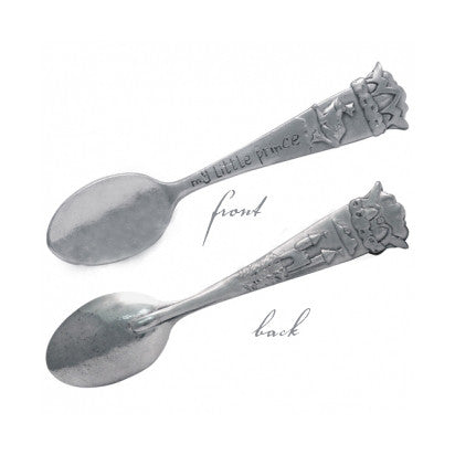 Little Prince Luxury Pewter Castle Child's Spoon