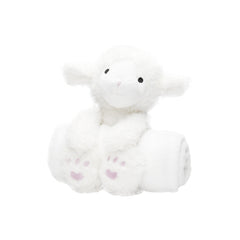 Plush Bedtime Huggie Lamb and Baby's Blanket