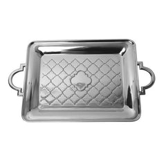 Elegant Casablanca Collection Accessory Tray, 19 1/2 x 12