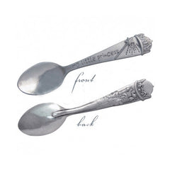 Little Princess Luxury Pewter Castle Child's Spoon