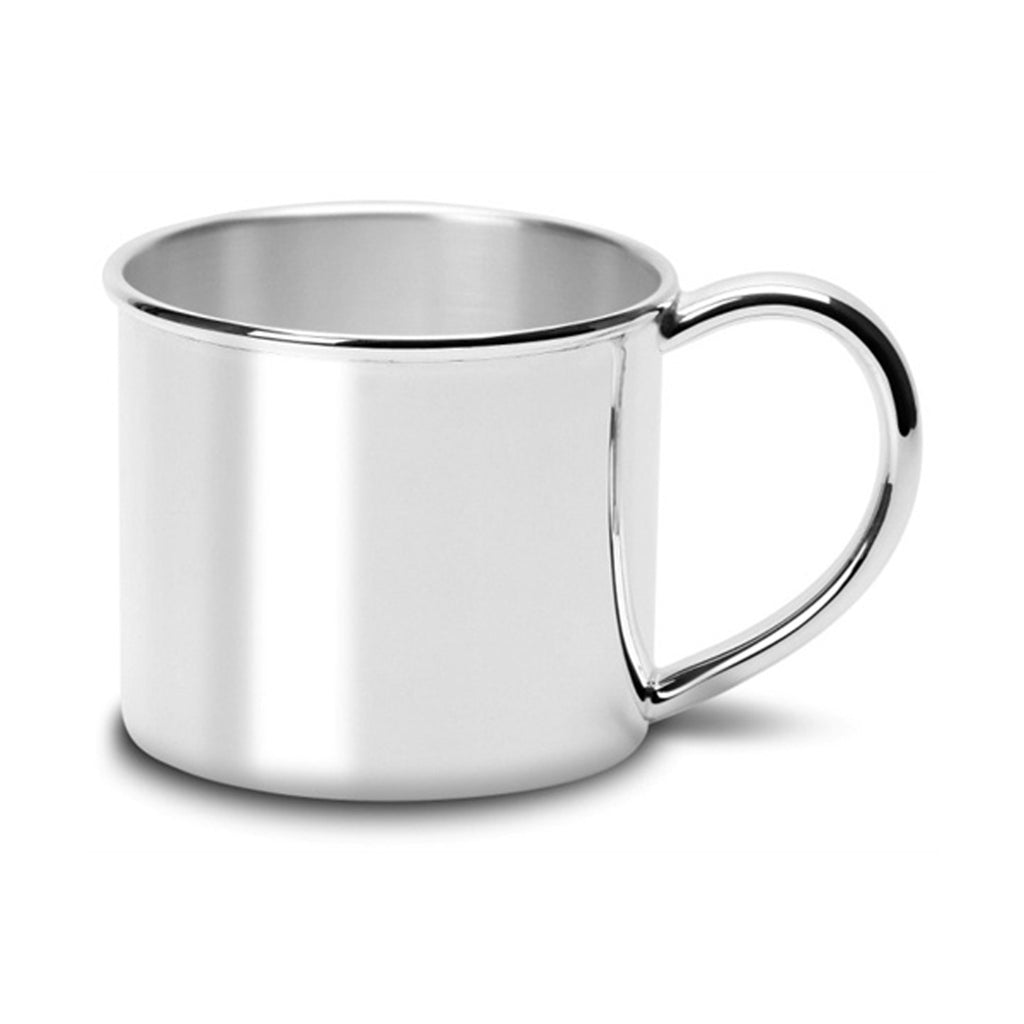Classic Silver Plated Heirloom Baby's Nursery Cup