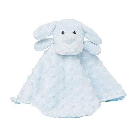 Ultra Plush Puppy Security Blanket, Soft Light Blue (OS)
