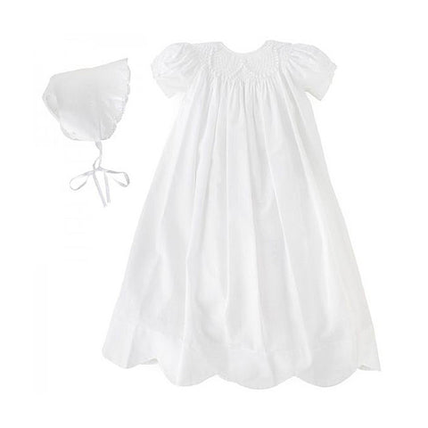 Kissy Kissy Besos Caroline Two-Piece Christening Gown