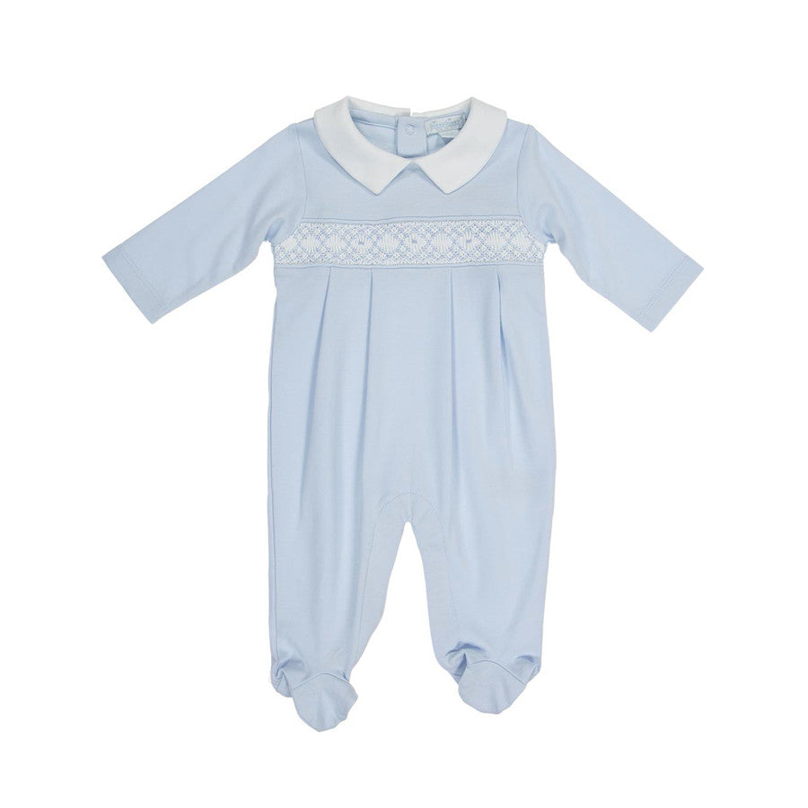 Kissy Kissy Organic CLB Distinct Hand Smocked Playsuit