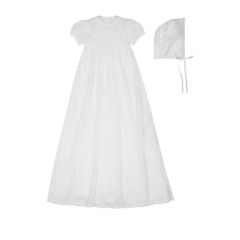 Kissy Kissy Besos Victoria Heirloom Christening Gown Set