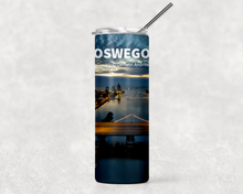 Load image into Gallery viewer, Bridge Street Twilight 20oz Skinny Tumbler