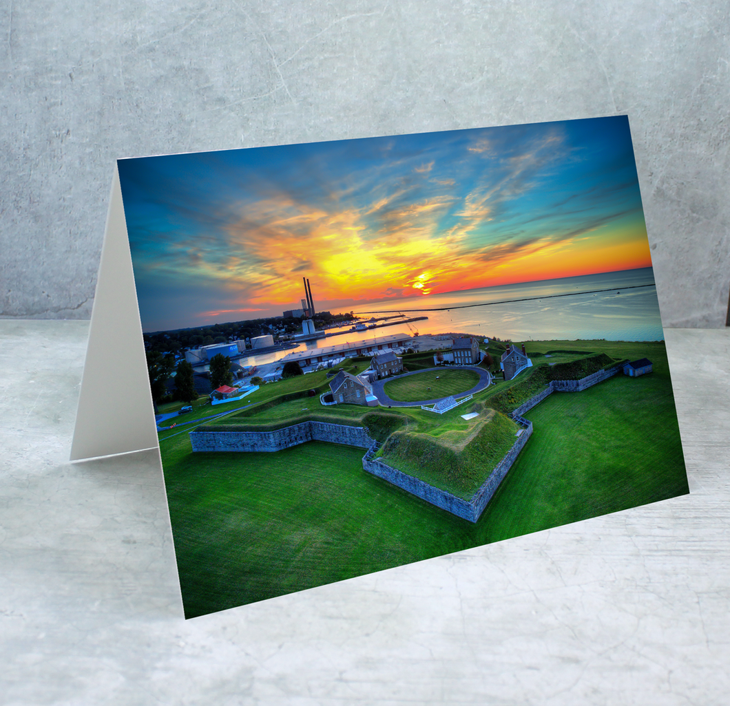 Fort Ontario Greeting Card