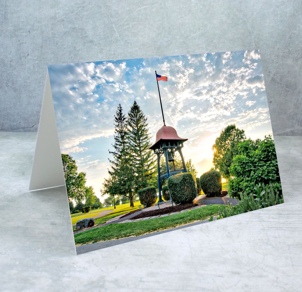 Kingsford Bell Greeting Card