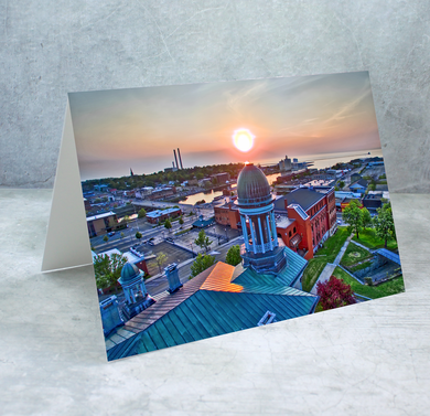 Oswego Courthouse Greeting Card