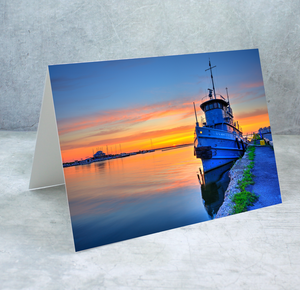 Tug Boat Greeting Card