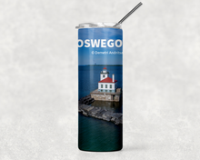 Load image into Gallery viewer, West Pierhead Lighthouse 20oz Skinny Tumbler